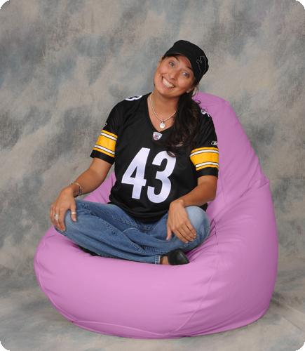 Big Pink Beanbag Chairs Bean Bag City