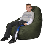 Big beanbag Chair in Gator Green