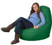 Grass Green Adult Beanbag