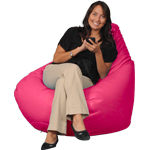 Hot Pink Adult Bean Bag Chair