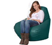 Big Bean Bag Furniture in Green Jade