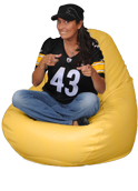 Adult Bean bag in yellow