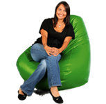 Lime Green  Bean Bag Chair