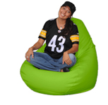Green Beanbag Chair