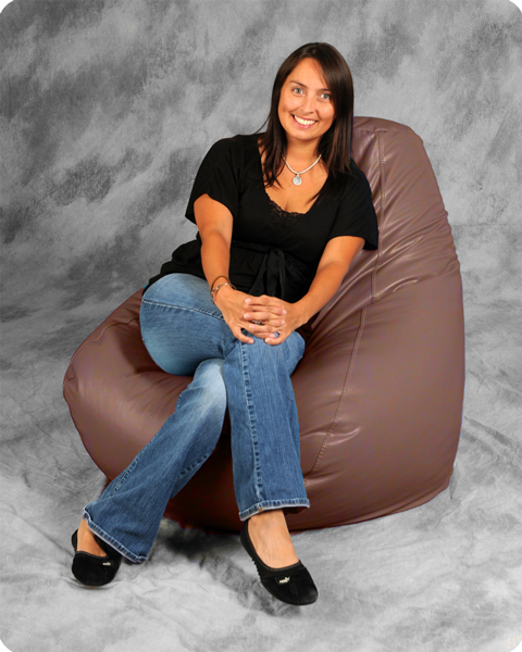 Bean Bags Adult  in Clay Pink