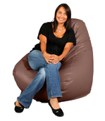 Mauve XL Adult Beanbag