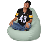 Mint Green Big Beanbag Chair