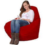 Big Red Bean Bag Chair