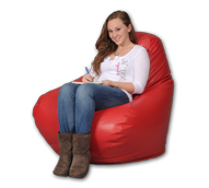 Big Red Bean Bag Chairs