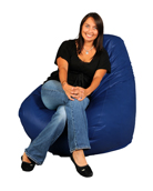 Royal Blue  Bean Bag Chairs for Adults