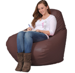 Spicey Brown Big Bean Chair