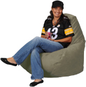 Simsuede Sagebrush XL Adult Beanbag