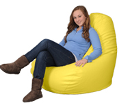 Sunshine Yellow Big Beanbags