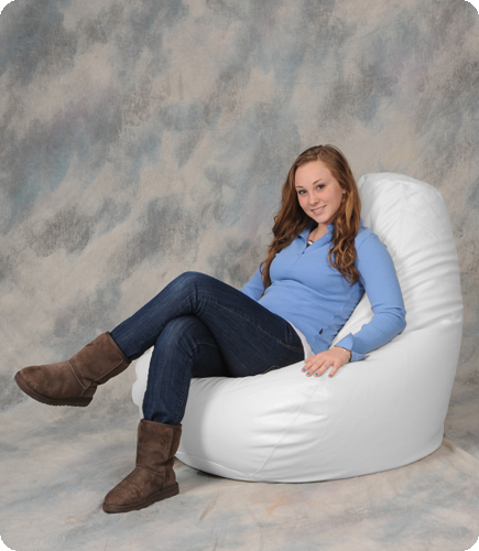 Groovy Big Bean Bag Chair In White Bean Bag City Gmtry Best Dining Table And Chair Ideas Images Gmtryco