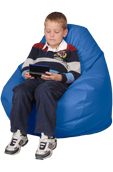 Blue Child Bean Bag Chairs
