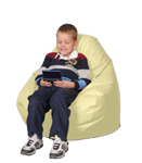 Yellow Child Bean Bag Chair