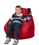 Red Child Bean Bag
