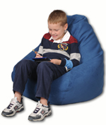 Blue Jean kid bean bag chair