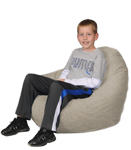 Denim Khaki Kids Bean Bag Chairs