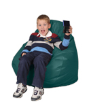 Green Child Beanbag Chair