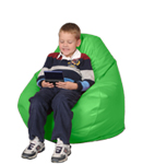 Bright Green Kid Beanbags